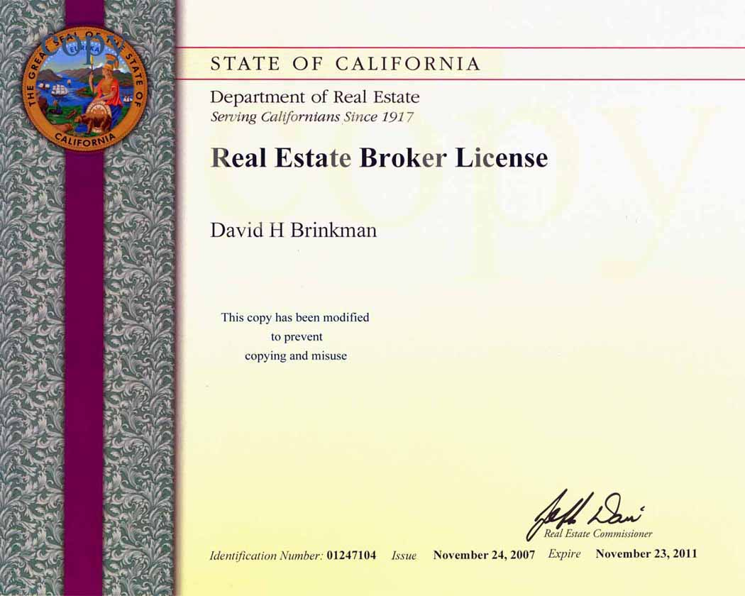 Broker license search